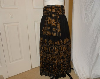 Vintage Together skirt and matching sash/scarf/shawl
