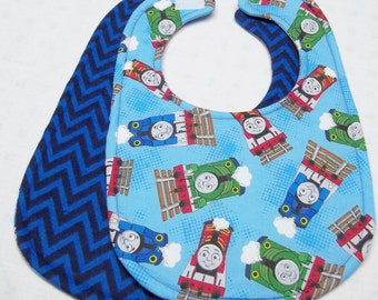 Thomas the Train Baby Bib
