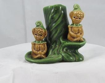 elf vase ceramic vintage