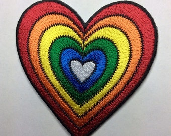 GOOD VIBES heart patch