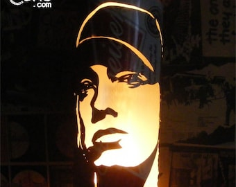 Eminem Beer Can Lantern: Slim Shady, Marshall Mathers Hip Hop Pop Art Lamp - Unique Gift!