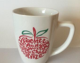 Teacher Appreciation Mug-Ships Fast!