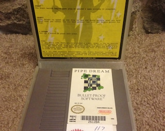 Nintendo (NES, 1990) - Pipe Dream Video Game