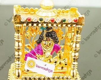 Makhan Murli Krishna Ladoo Gopal Butter Kanha Mandir Statue Idol Car Dashboard CS0068