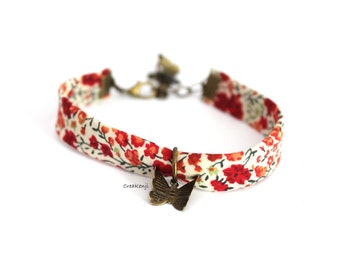 "Bracelet poetic Liberty ""Flight of butterflies"""