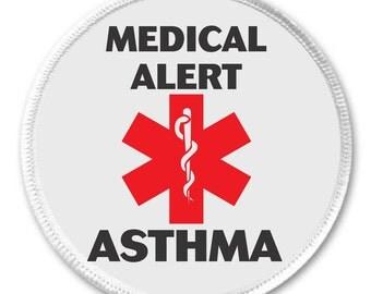 Asthma Alert Etsy