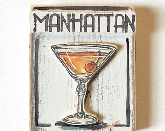 Manhattan Wooden Art
