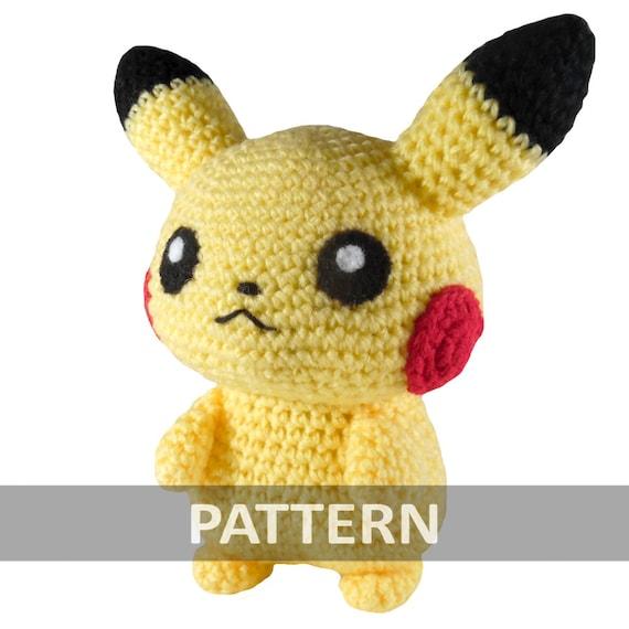 Amigurumi Pikachu Free Pattern : PATTERN Pikachu Amigurumi Crochet Plush PDF