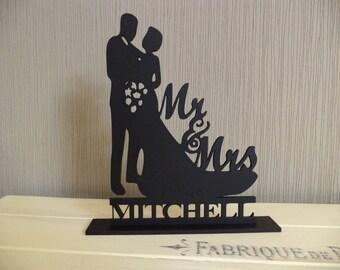 Mr & Mrs Silhouette