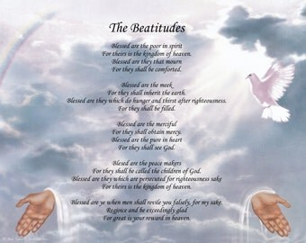 Inspirational Poem The Beatitudes