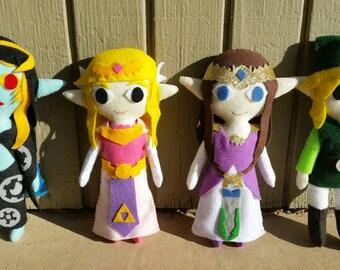 Legend of Zelda doll set