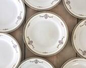 Set of 10 Noritake Salad Plates Laureate Pattern US Design Circa 1921