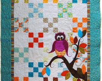 Baby quilt pattern | Etsy : baby quilt applique patterns - Adamdwight.com