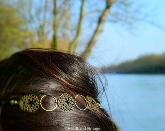 """Vintage Headband / head jewel  """"Diana"""""""
