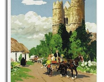 Ireland Art Vintage Travel Poster Retro Irish Home Decor Print xr921
