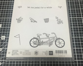Stampin Up Pedal Pusher Stamp Set