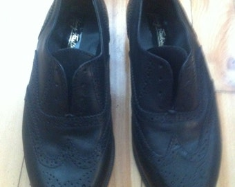 wing tip loafer shoes womens size 6