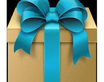 Gift Wrap - Gift Box - Gift Card