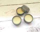 Vanilla Lip Balm // Homemade Lip Balm // .5 oz Lip Balm Tin // Moisturizing Lip Balm