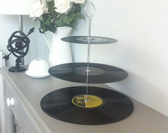 LP 3 tier cake stand