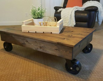 Factory Cart Industrial Coffee Table Factory Cart Coffee Table Distressed Coffee  Table Rustic