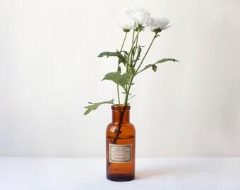 Old medicine bottles , decorative vase
