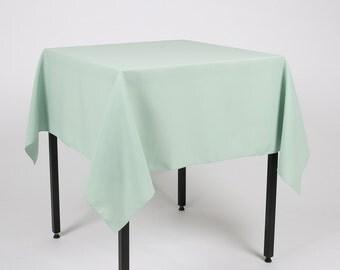 Mint Tablecloth   Etsy