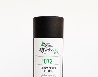 Lychee Black Tea Blend / Strawberry Lychee Black Tea /No. 072 / Strawberry Lychee
