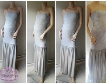 Maternity Photography wear #Grey #tight fitting