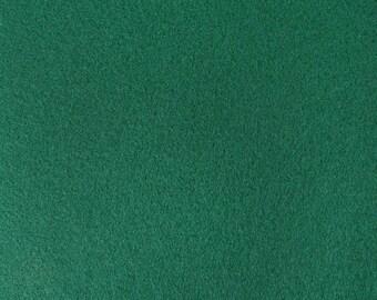 Kelly Green Felt Fabric - by the yard