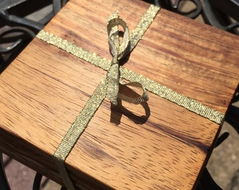 Koa Coasters (Set of 4)
