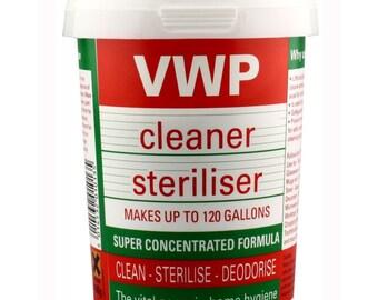 VWP steriliser 400g  , sterilising ,homebrewing household cleaner  Bargain!