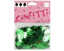 Confetti Green Shamrocks St. Patrick's Day Table Top Scatter Spring Party Invitation Irish Clover Decoration Lucky Leprechaun Ireland Decor
