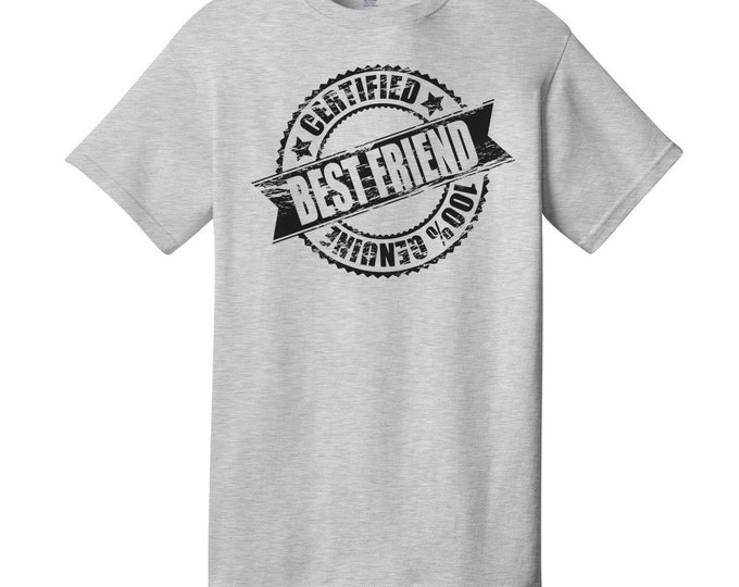 Certified Best Friend T-Shirt