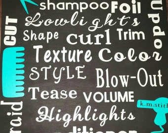 Hairdresser Shop Sign