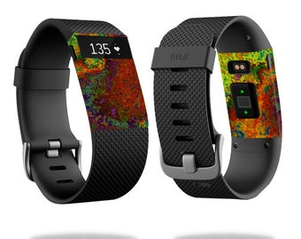 Skin Decal Wrap for Fitbit Blaze, Charge, Charge HR, Surge Watch cover sticker Rust