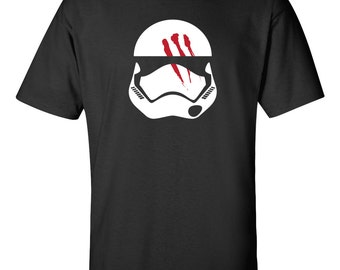 Men's Episode 7 VII Finn Stormtrooper Helmet Star Wars T-Shirt