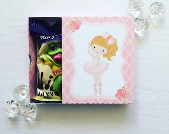 Ballerina matchboxes