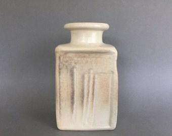 """RESERVED  for KH.  Steuler object 915.   designer : Heiner Balzar ,, Kiesel """" glaze, designed by Liesel Homrich  West Germany Pottery.  WGP."""