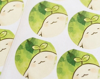 Mandora sticker seal 2pcs
