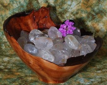 1 SILVER TOPAZ Tumbled Stone - Silver Topaz Crystal, Silver Topaz Stone, Tumbled Silver Topaz, Silver Topaz Gemstone