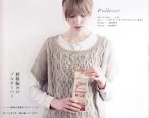 22 Knit Patterns - Knitting Patterns - Knit Sweater Patterns - japanese knit - japanese craft ebook - pattern - PDF - Instant Download