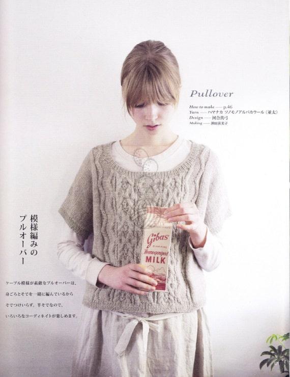 22 Knit Patterns - Knitting Patterns - Knit Sweater Patterns - japanese knit ...