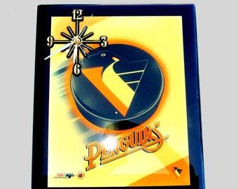 Pittsburgh Penguins Wall Clock