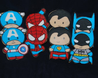 superhero-cookies