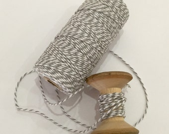 Grey Bakers Twine - 110 yards