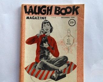 Laugh Book Magazine December 1958