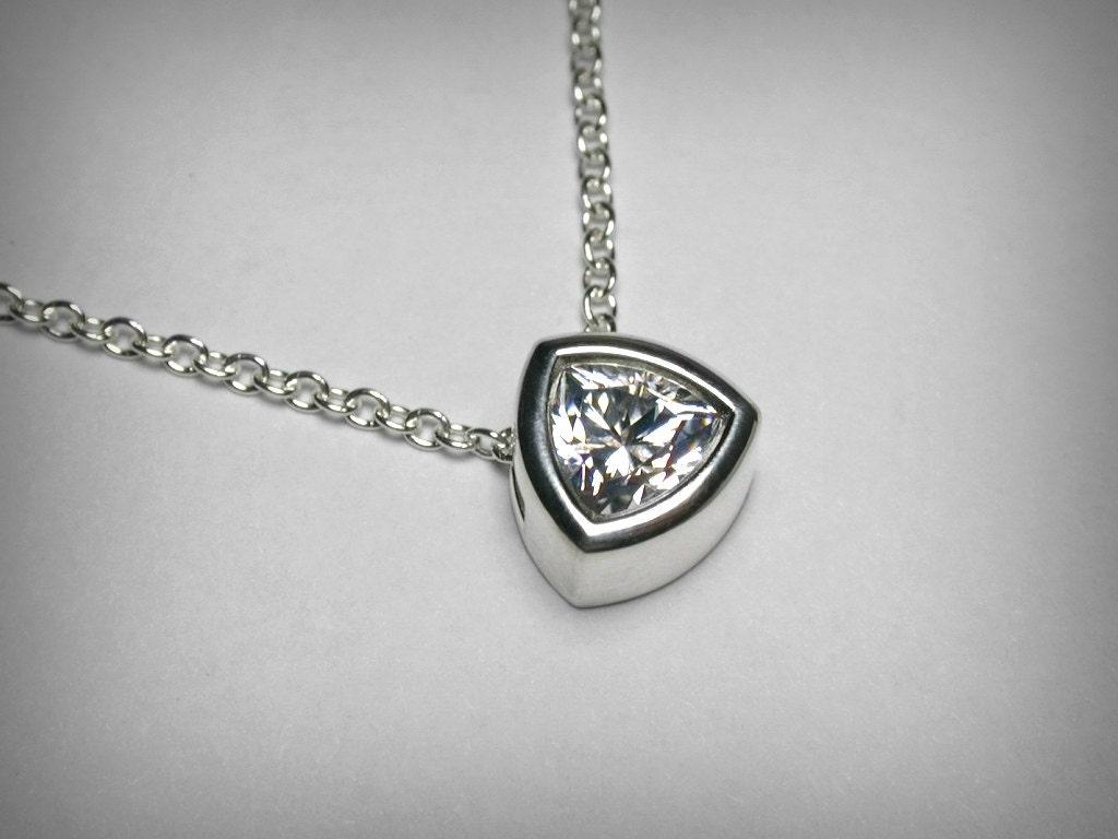Imitation Diamond Necklace Pendant Cubic Zirconia Cz Necklace