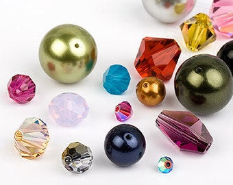 Swarovski 3mm Pearls - ALL COLOURS - Pack 20