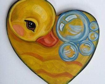 Rubber Ducky Heart